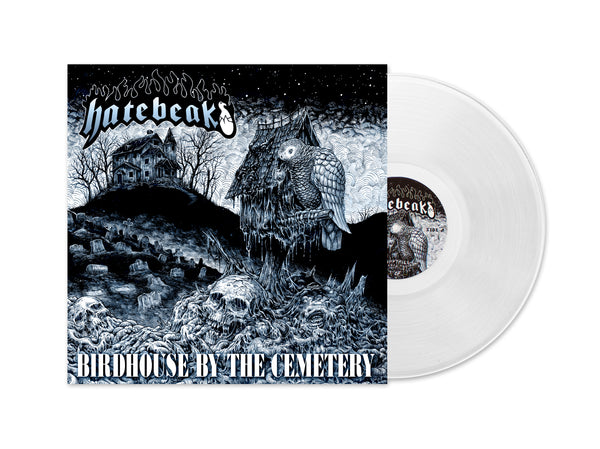"HATEBEAK 'Birdhouse By The Cemetery' Split 12"" Vinyl"