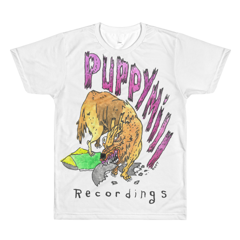 Puppy Mill Recordings All-Over Printed T-Shirt