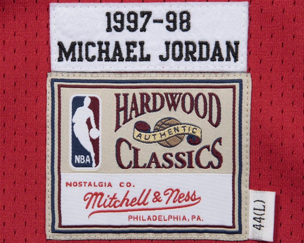 Mitchell & Ness MICHAEL JORDAN Authentic Jersey