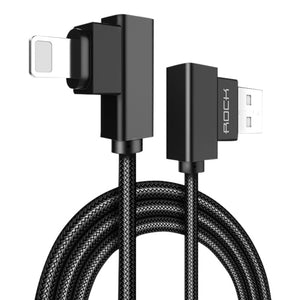 Lightning to USB Cable, 90 Degrees (0.3 m)