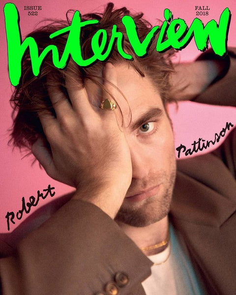 Rob Pattinson Interview Magazine 2018 SHAMI jewelry SHAMI official