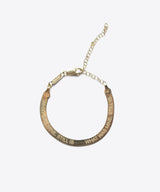 SHAMI JEWELRY HERRINGBONE POETRY CHAIN JEWELRY