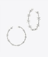 KELLY SHAMI JEWELRY BARBWIRE HOOP