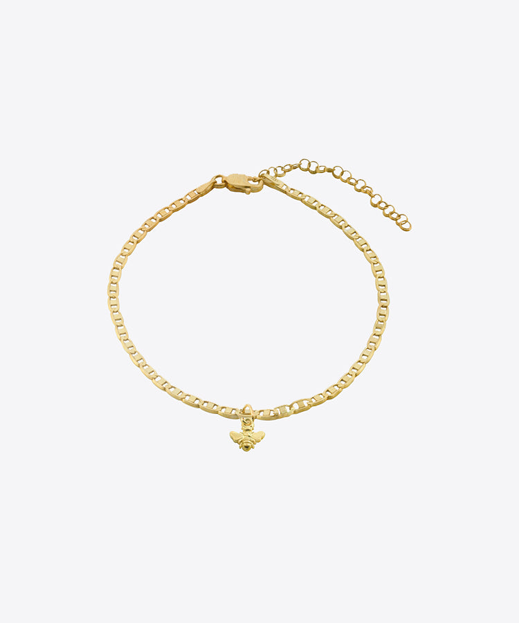bee anklet shami jewelry anklets SHAMI official