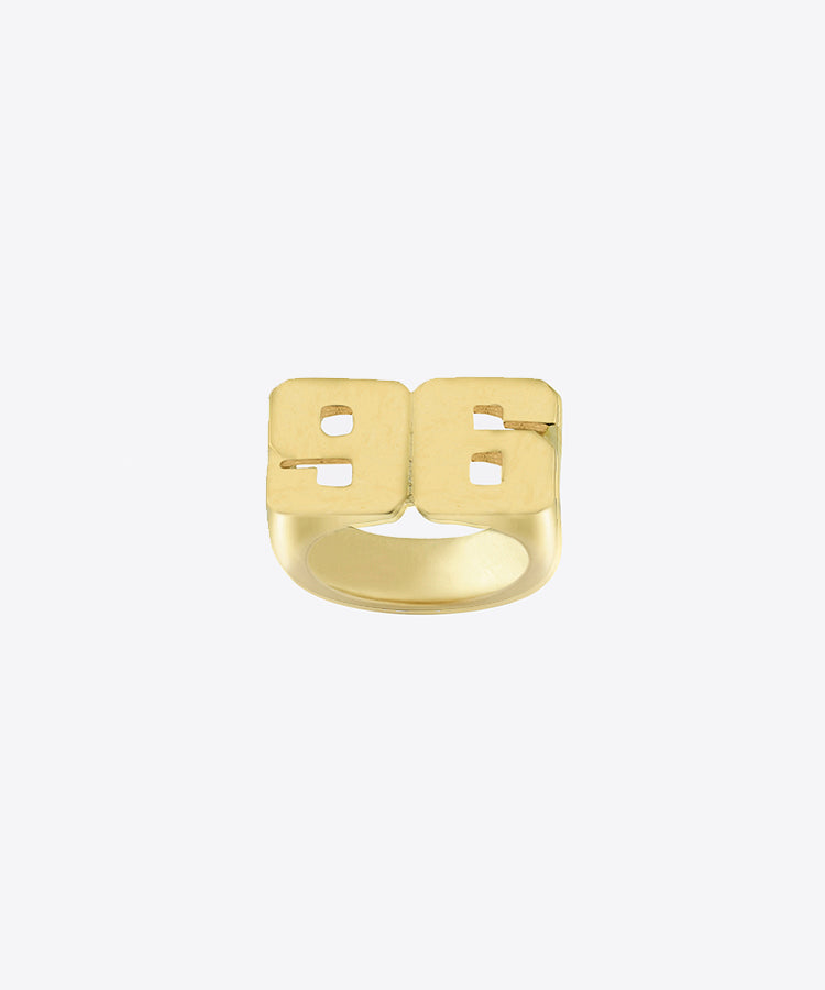 Block Year Ring Kelly Shami Jewelry Shami Official