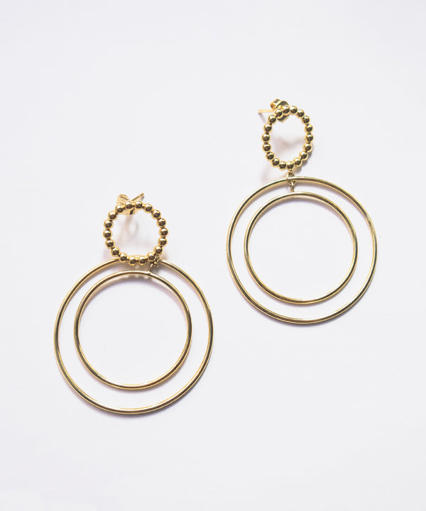WAVERLY HOOP EARRINGS
