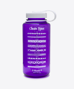 CHAIN TYPES REUSABLE NALGENE 32oz WIDE MOUTH BOTTLE