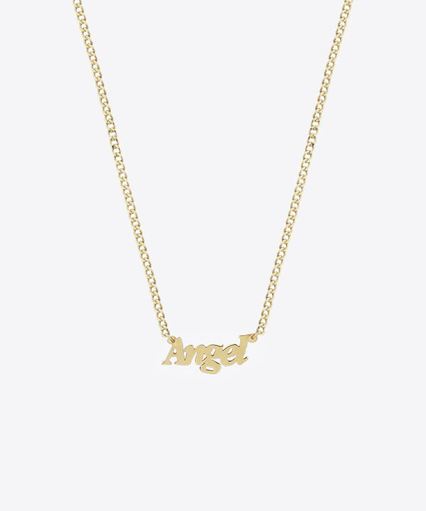 THE INSTANT CLASSIC NAMEPLATE NECKLACE