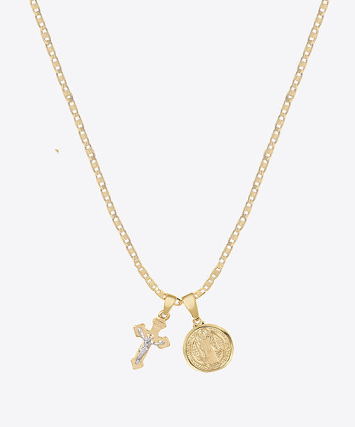 JULIET DAINTY CROSS NECKLACE SET