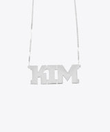 THE KIM NAMEPLATE NECKLACE