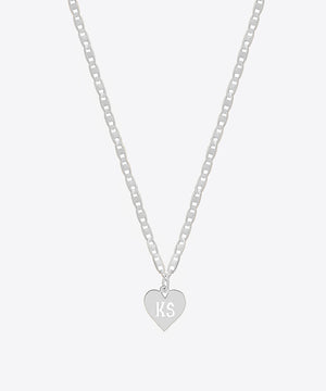 LOVE NOTE INITIAL NECKLACE