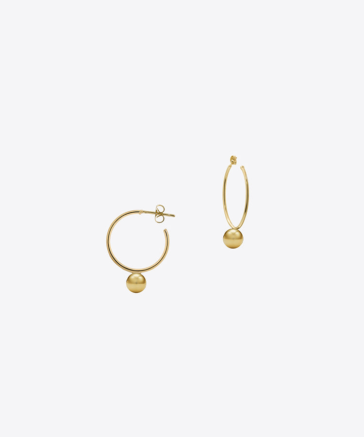 LULU MINI HOOP EARRINGS