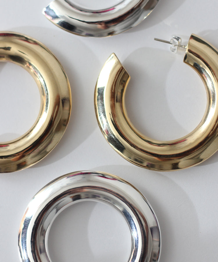 MINETTA HOOP EARRINGS