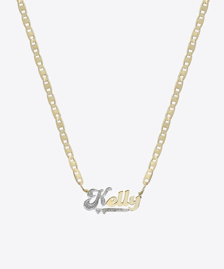 HAIGHT NAMEPLATE NECKLACE