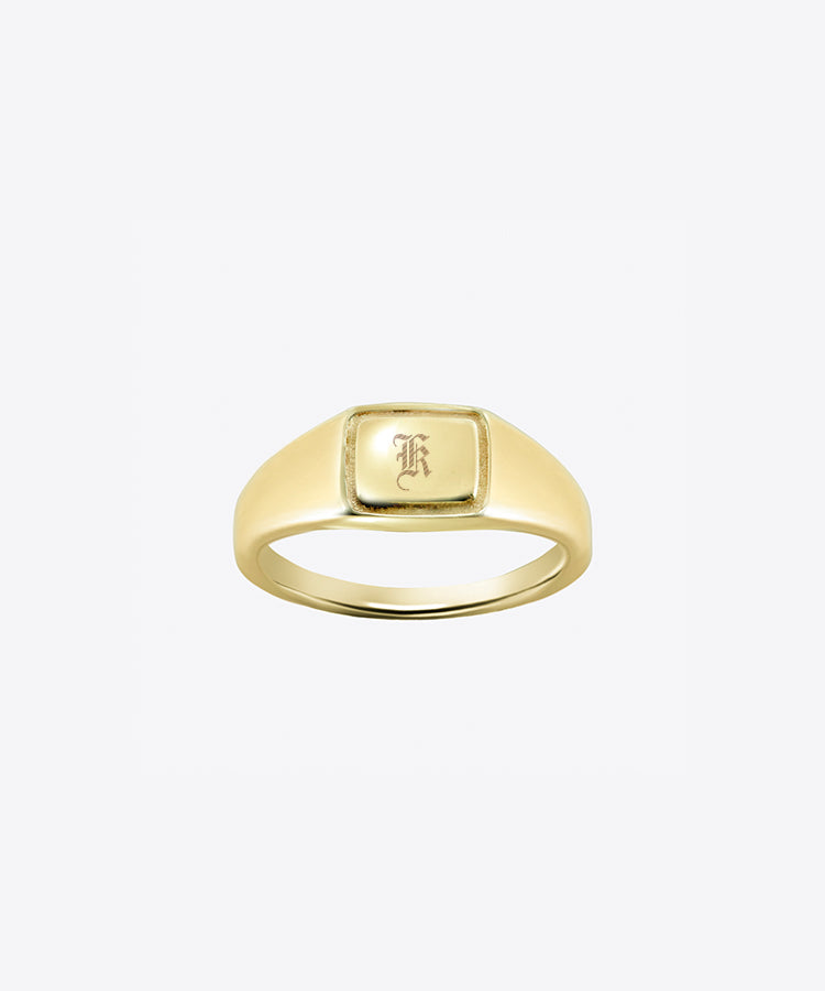 CAPITAL SIGNET RING