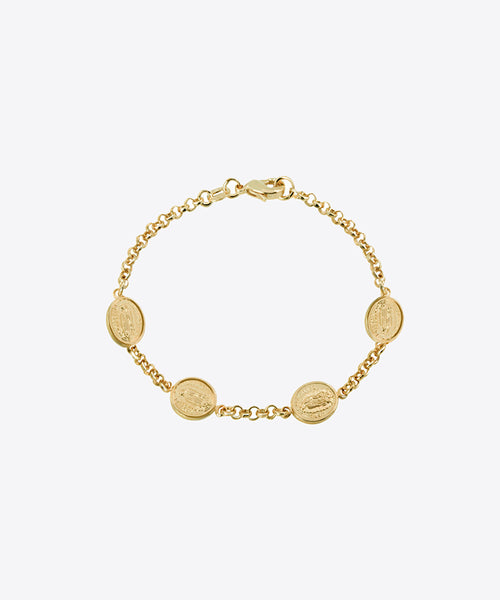 OUR LADY MEDALLION BRACELET