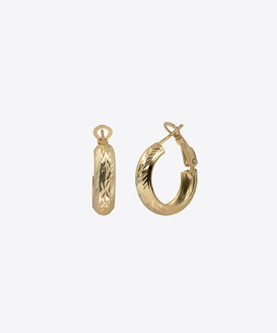 PILAR MINI HOOP EARRINGS