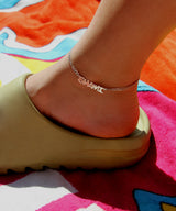 THE TAG NAMEPLATE ANKLET