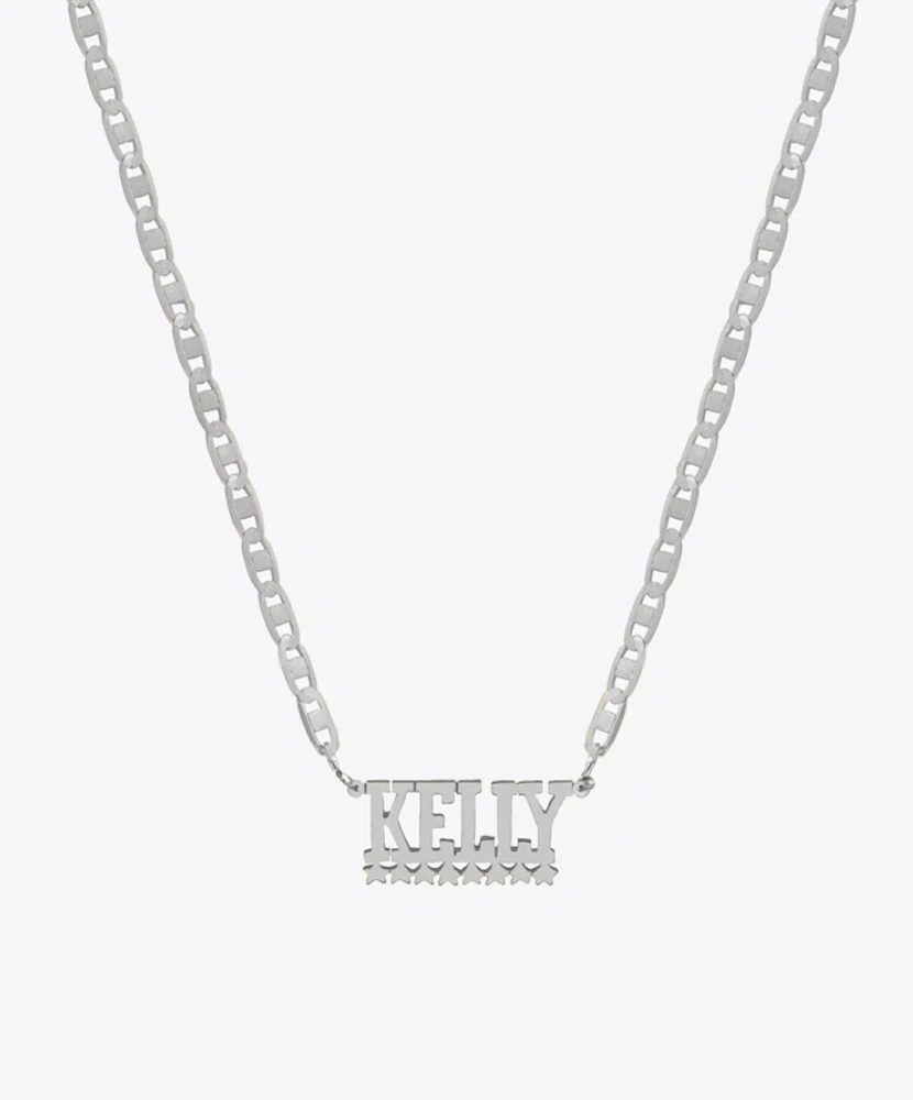 PREMIER NAMEPLATE NECKLACE