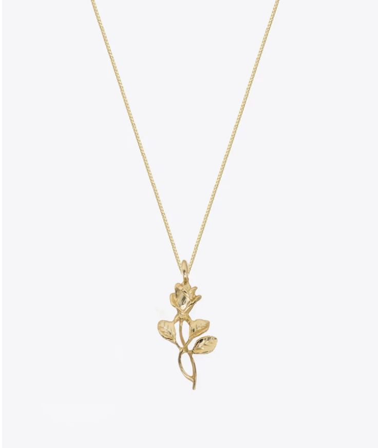 SHAMI ROSE NECKLACE