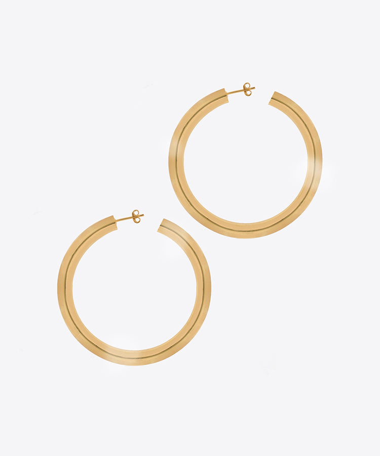 VIVIENNE HOOP EARRINGS