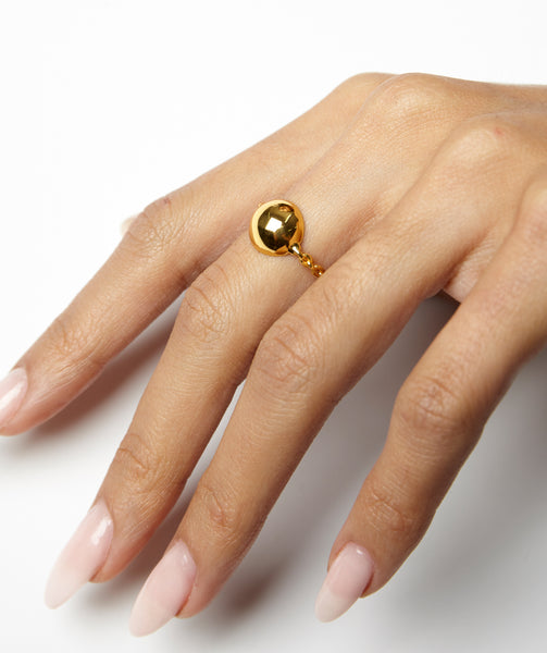 ball and chain ring shami jewelry kelly shami shami official