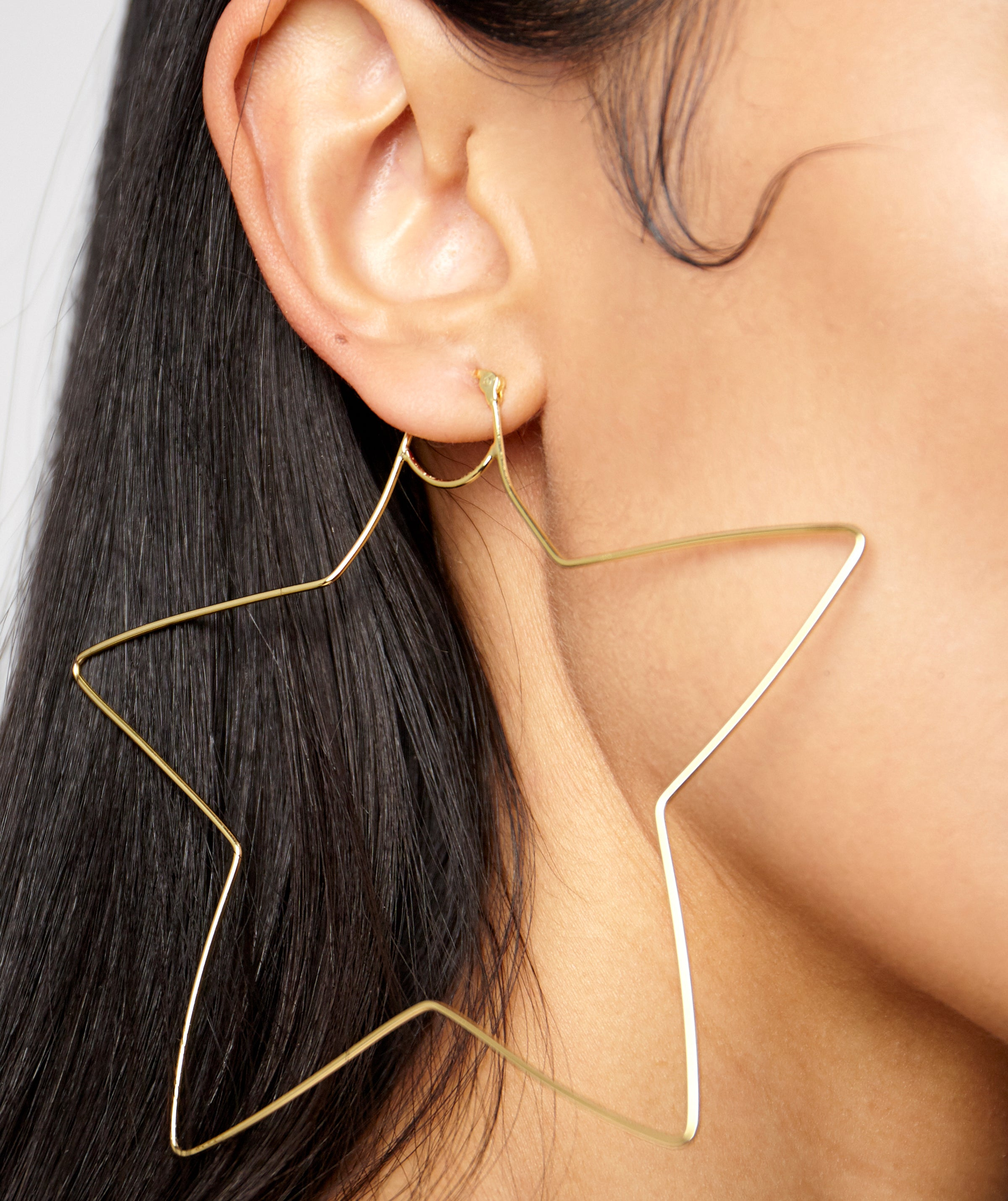 star hoop earrings kelly shami shami jewelry