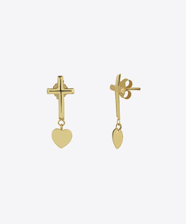 CHARLIE CROSS EARRINGS