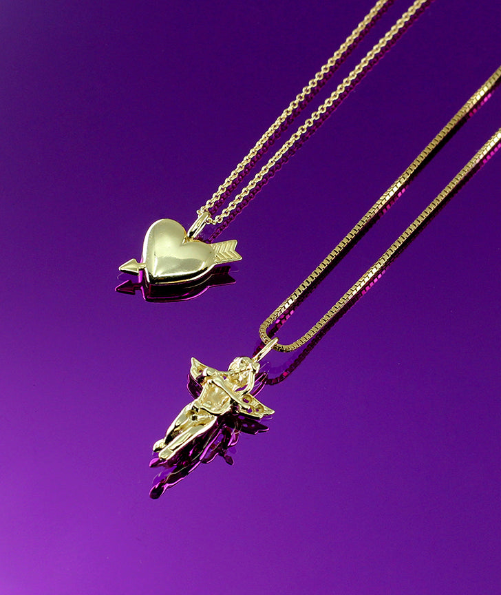CUPID'S GAME NECKLACE