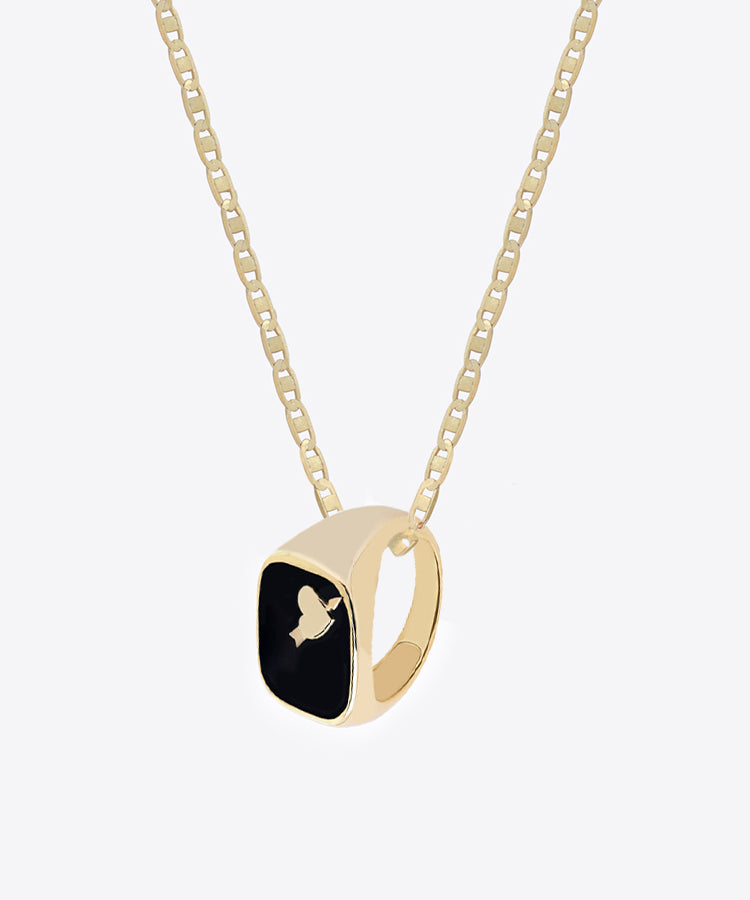 BRISEUR DE COEUR RING NECKLACE