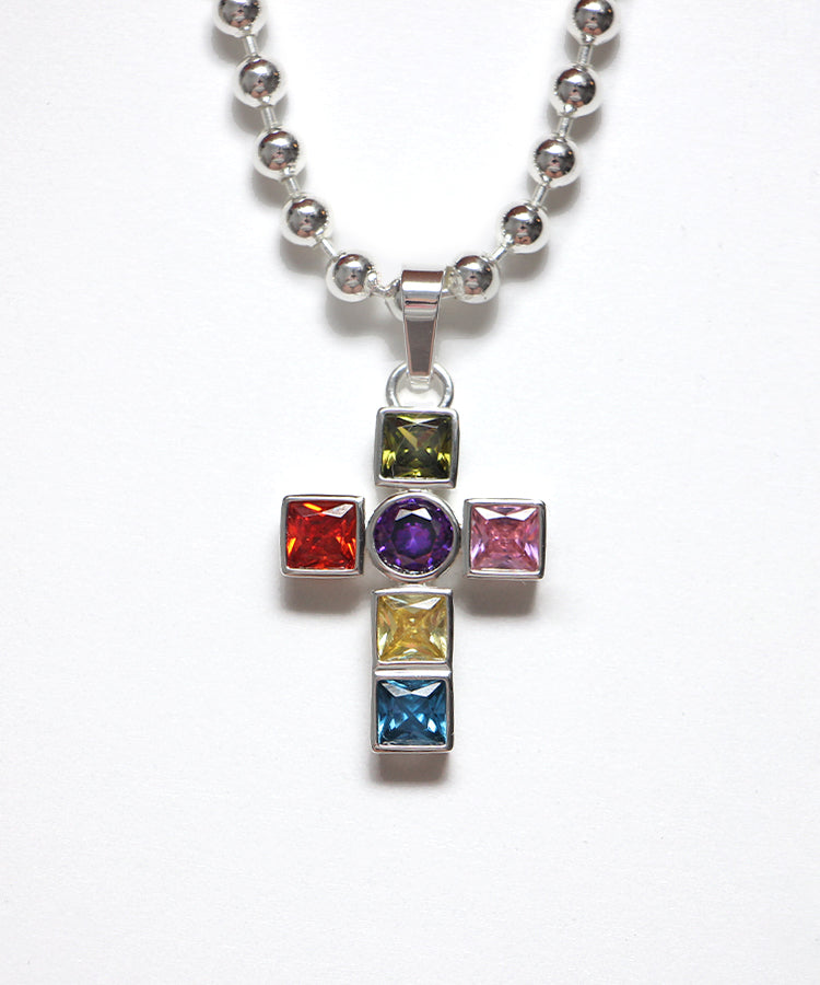 THE LEADLIGHT CROSS NECKLACE