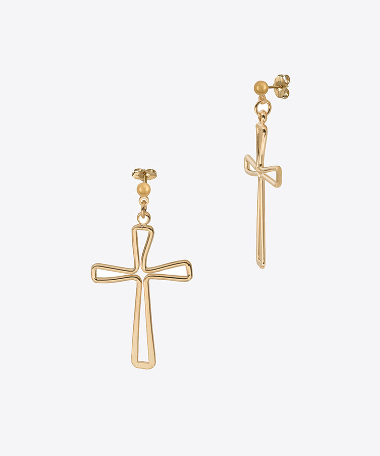 LIMELIGHT CROSS EARRINGS