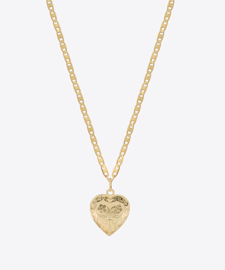 CAMILLE HEART NECKLACE