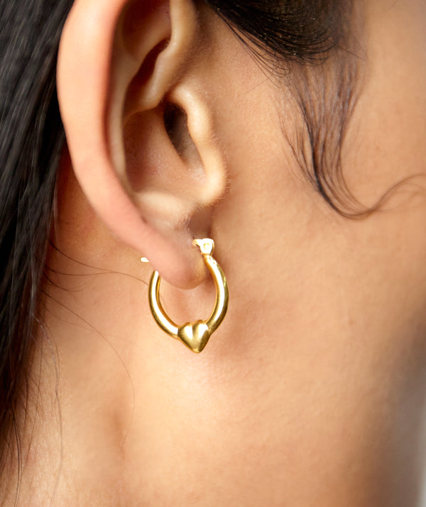 LOU MINI HOOP EARRINGS