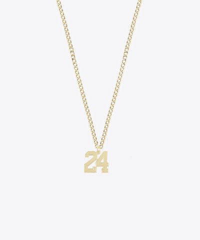 THE MINI NUMBER NECKLACE