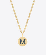 VARSITY MEDAL NECKLACE