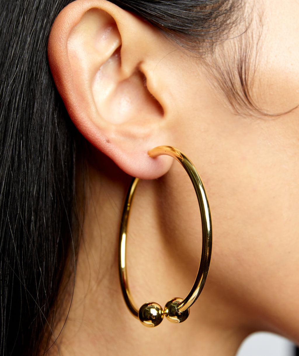 PIERCING HOOP EARRINGS