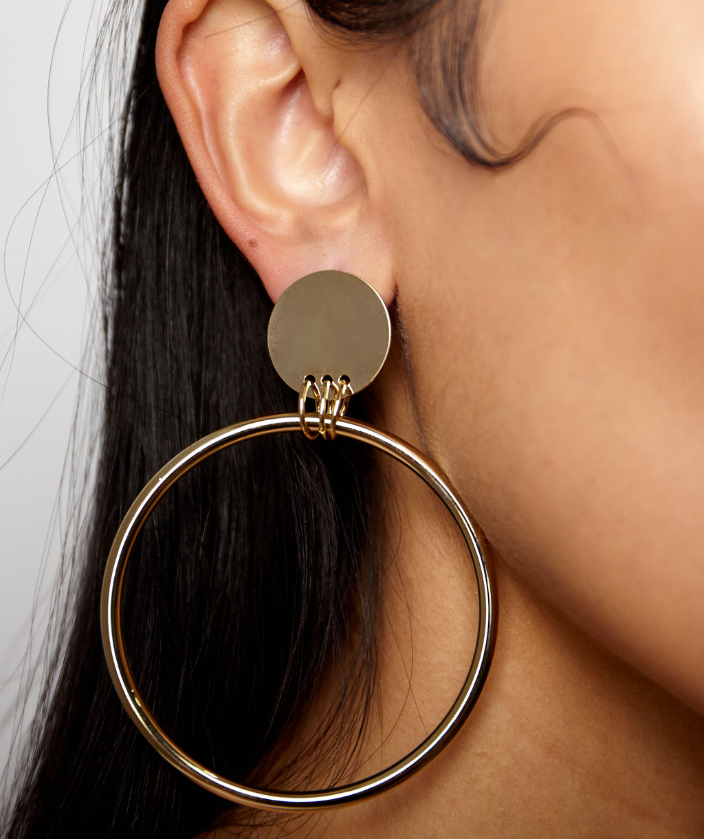 STUDIO 54 HOOP EARRINGS