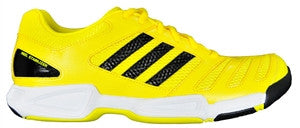 Adidas BT Feather Badminton Shoes (Yellow/Black)