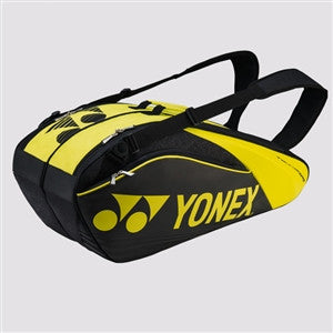 Yonex Pro Series Badminton Thermal Racket Bag 9626EX Black/Lime (2017)