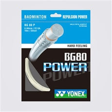 Yonex BG-80 Power Badminton String [200m Reel]