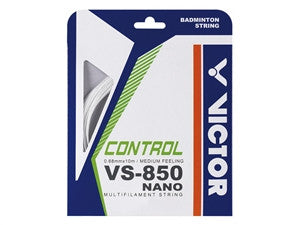 Victor VS-850 NanoTec Badminton String Pack - Badminton Avenue