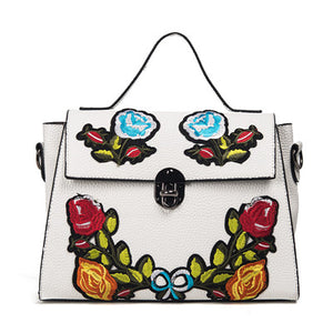 Embroidered Bag Tote Kayla 5 colors