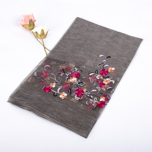 Silk Scarf with embroidery Verona