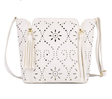Shoulder Tote Perforated Bag Molly 3 colors