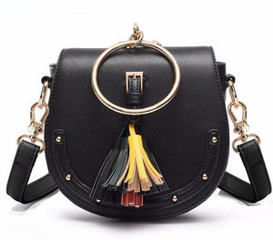 Crossbody bag with tassel Aviya 4 colors