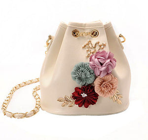 Bucket bag shoulder bag Flora