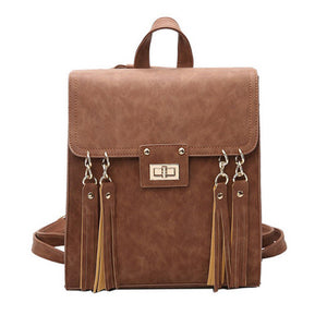 Casual Backpack Tassel Sammy 3 colors