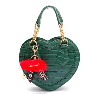 Heart-shaped Crossbody Bag Vanda (4 colors)