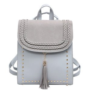 Casual Backpack Tassel Larry 4 colors